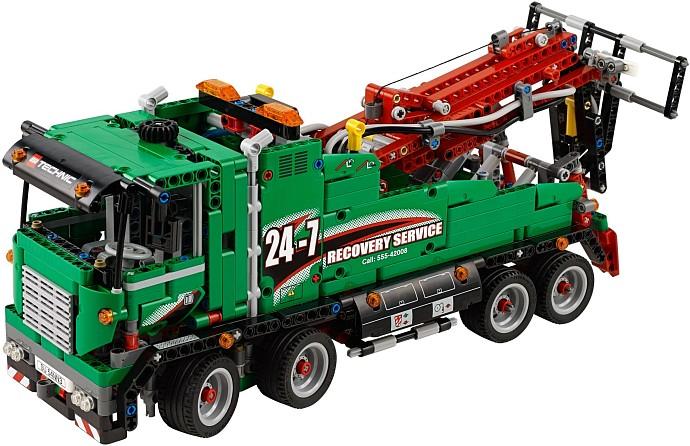 42008 грузовой эвакуатор конструктор