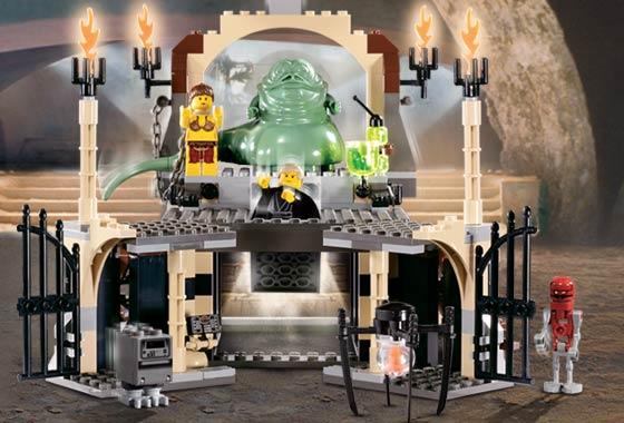 4480 лего звёздные войны дворец джаббы