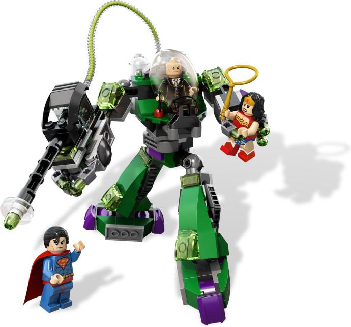 Против робота лекса конструктор лего