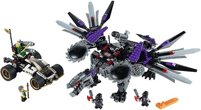 Механизм дракона конструктор лего