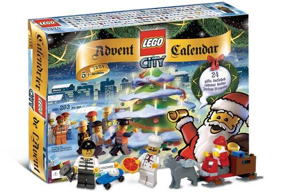 7324 лего сити рождественский календарь