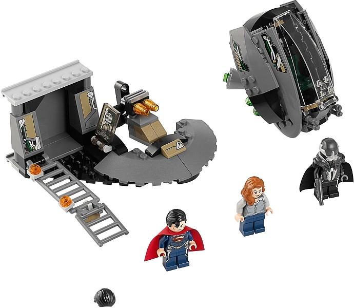Супермен блэк зиро конструктор лего