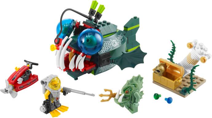 Лего атлантида атака морского чёрта