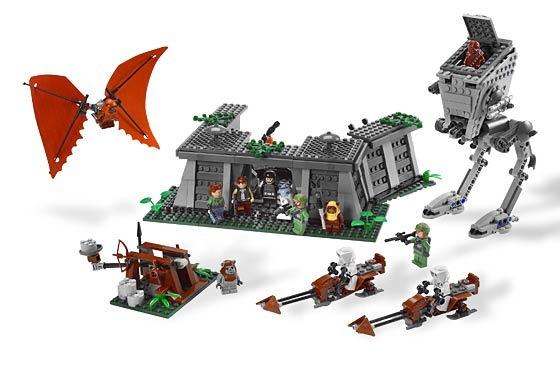 8038 битва за эндор конструктор лего