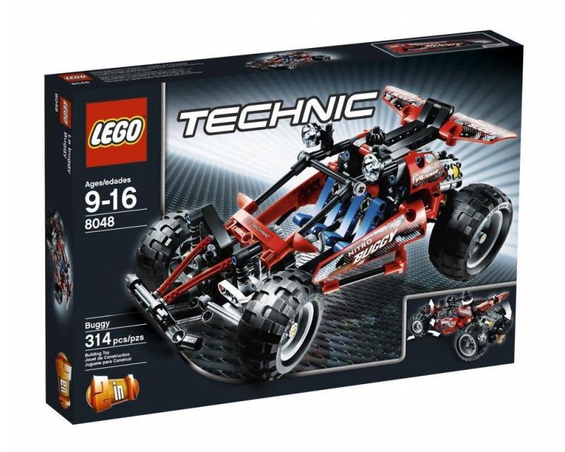 8048 лего техник багги конструктор