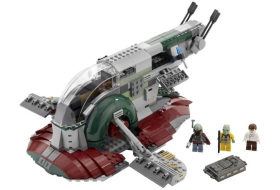 Лего звездные войны слейв 1 новый