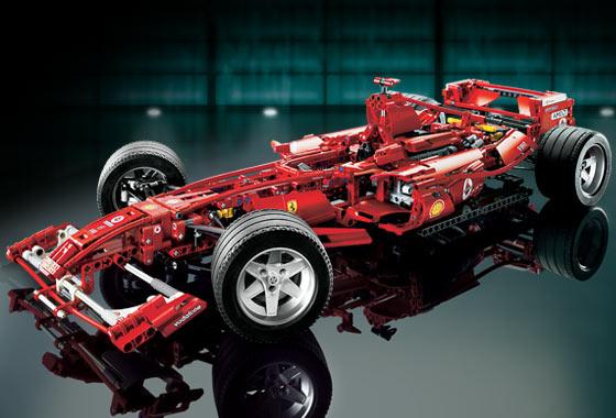 Kupit 8674 Lego Gonki Ferrari Formula 1 Konstruktor Lego V Moskve