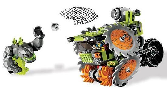 Купить игрушка power miners камнедробилка lego 8963 дробилка смд 109 в Сальск